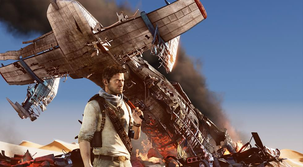 Picture of Drake from Uncharted 3